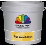 Global Wall Varnish Matt - transparante muurverf