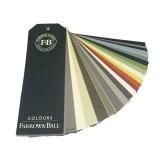 Farrow & Ball kleurenwaaier is een collectie van alle actuele Farrow & Ball kleuren